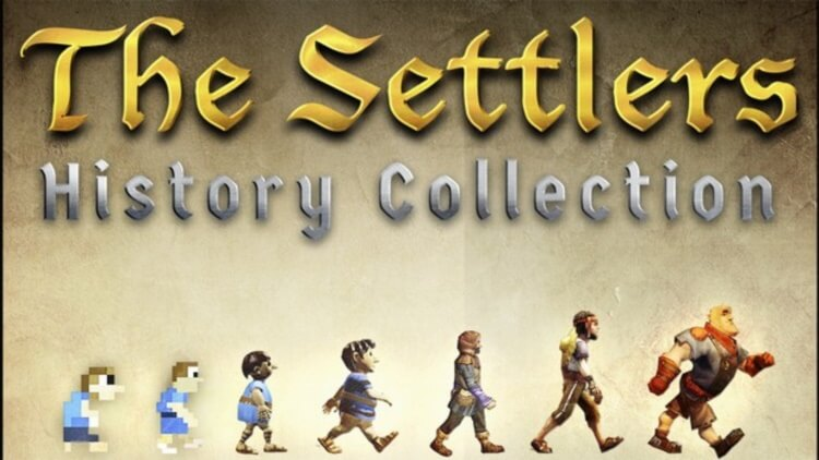 The Settlers History Collection Game Cover